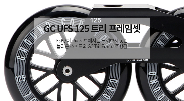 GC 125mm Tri-Frame Set